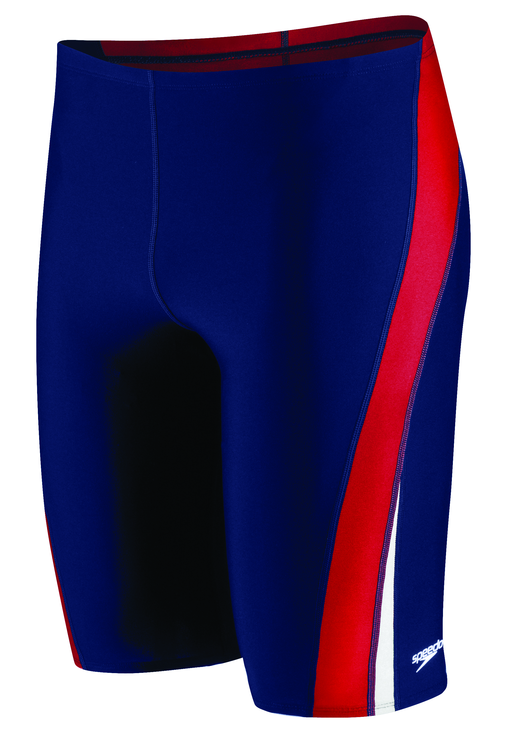 Speedo Endurance+ Launch Splice Jammer: Varsity Swim
