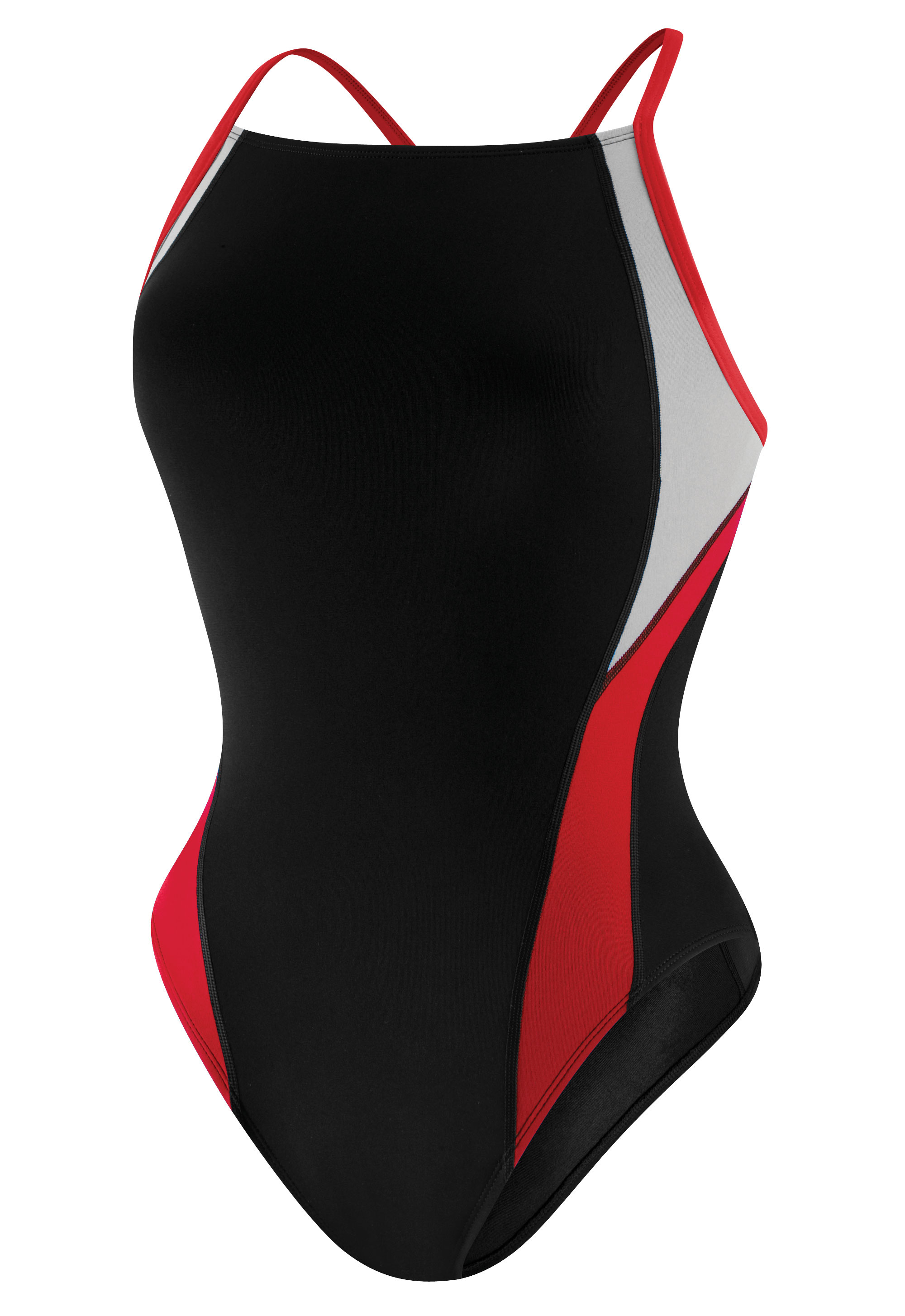 96695a15d9 Speedo Endurance+ Launch Splice Cross Back: Varsity Swim