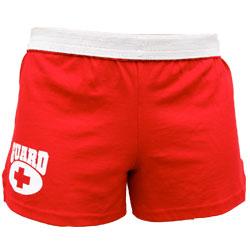 6aa98dc26d0 Cheer short w  Guard logo  Varsity Swim