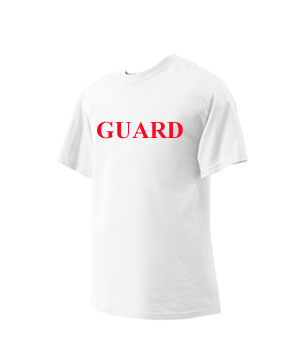 d84d207a4bb White Lifeguard T-shirt  Varsity Swim